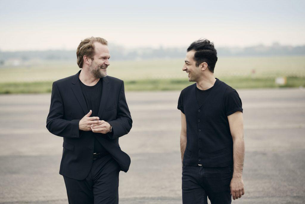 Arash Safaian und Sebastian Knauer – photo credit – Gregor Hohenberg