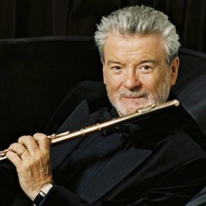 Sir James Galway – photo credit – Paul-Cox
