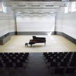ZKO-Haus Konzertsaal mit Flügel