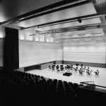 ZKO-Haus Konzertsaal mit Orchesterbestuhlung