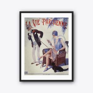 Vintage-Poster La Vie Parisienne