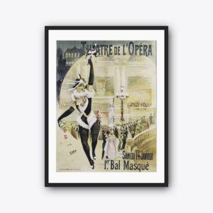 Vintage Poster Théâtre De L'Opéra