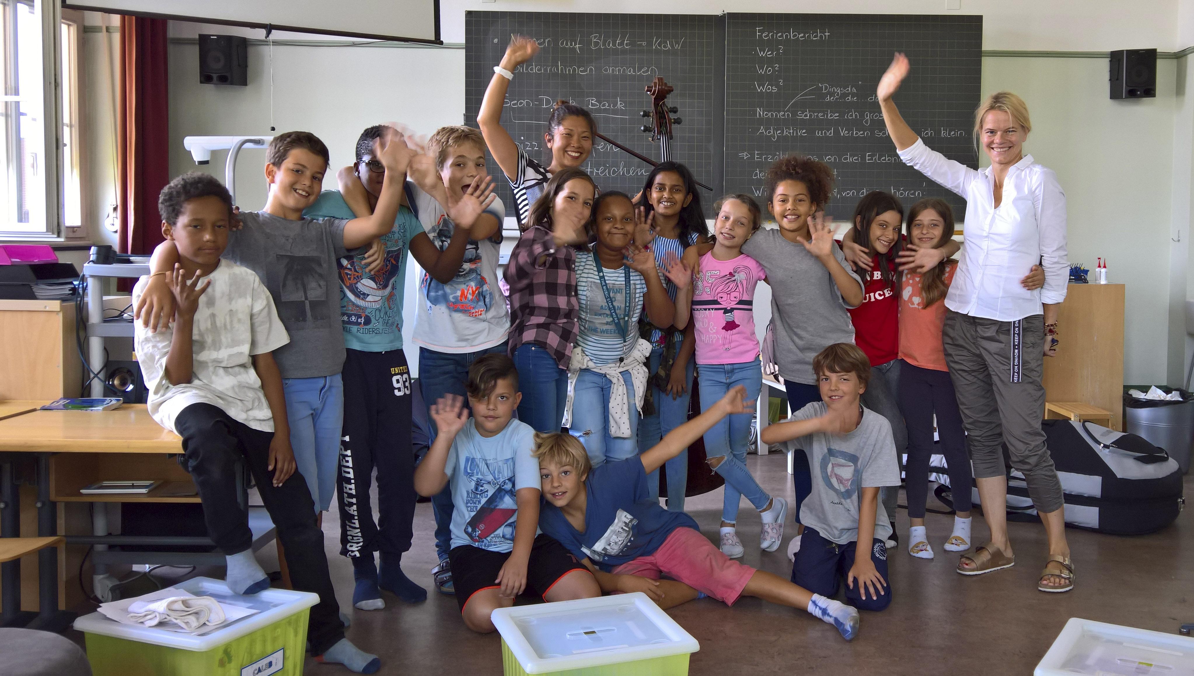 Junges ZKO – Schulhaus Sihlfeld – 5. Klasse